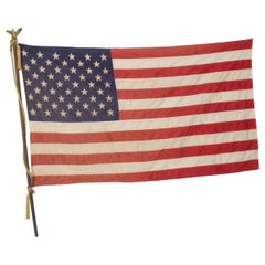 USA American FLAG 50 Star Stars and Stripes Eagle Flag Pole