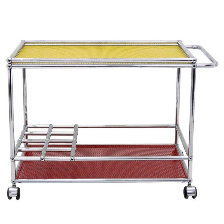 USM Haller Bar Cart For Sale