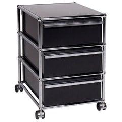 USM Haller Metal Roll Container Black Sideboard Office Furniture
