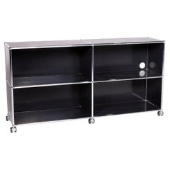 USM Haller Metal Sideboard Anthracite Shelf Office Furniture