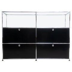 USM Haller Modular Sideboard Bookcase