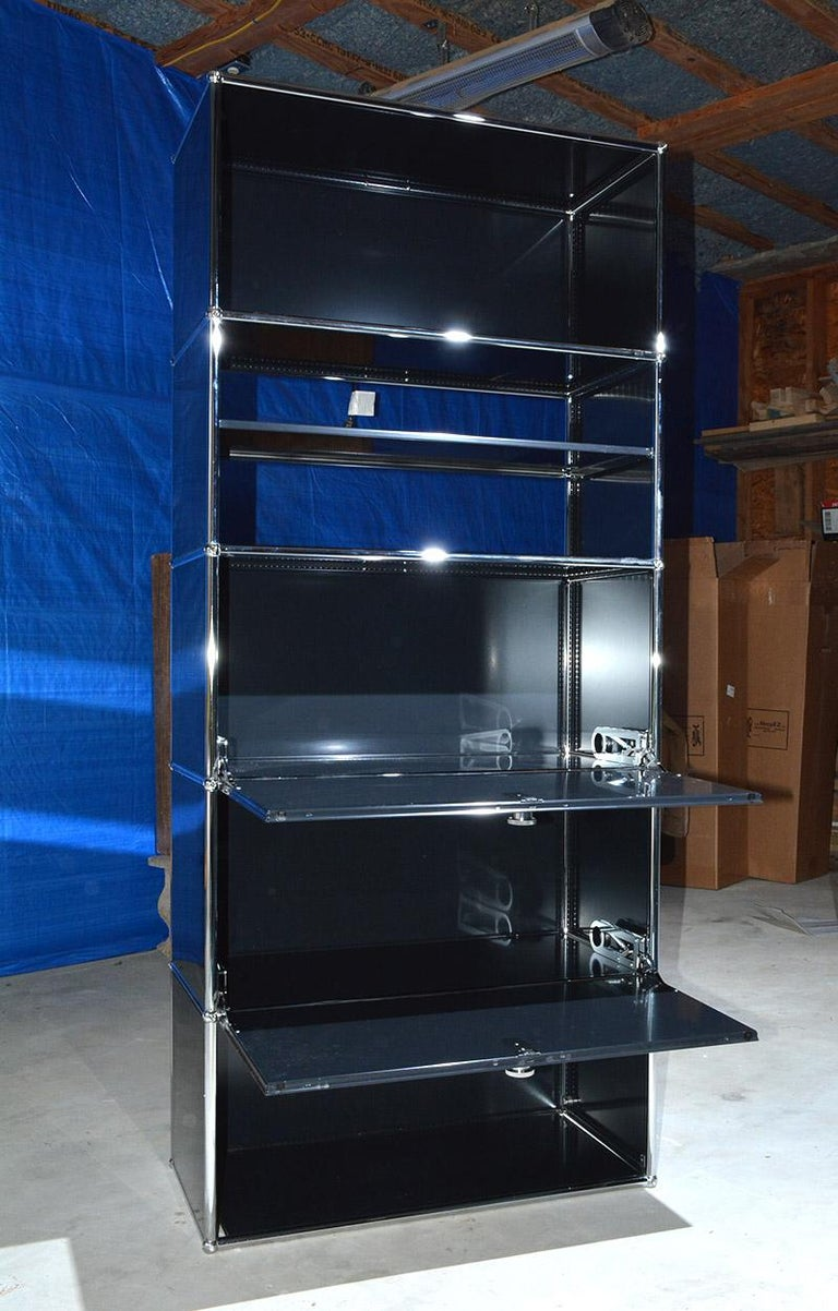 USM Haller Shelving, 4 Avaialble In Excellent Condition For Sale In Great Barrington, MA