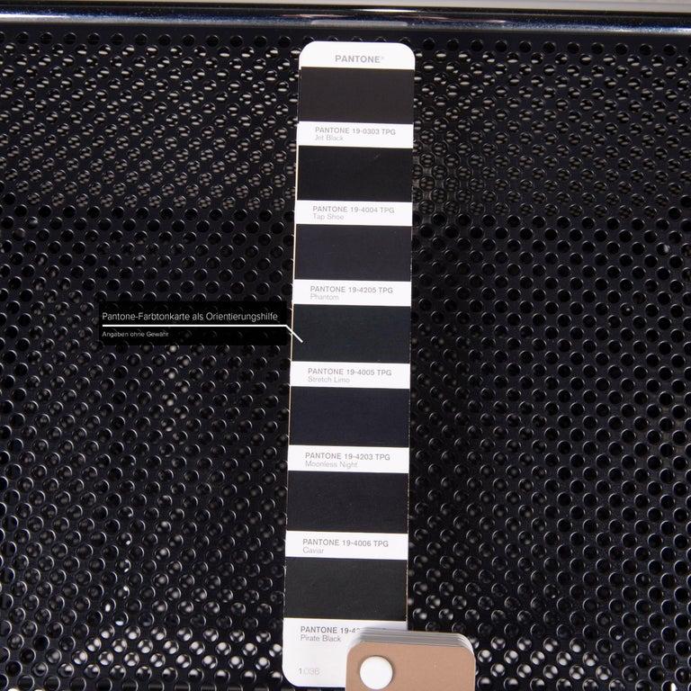 German USM Haller Sideboard Black Highboard Shelf Compartment Office
