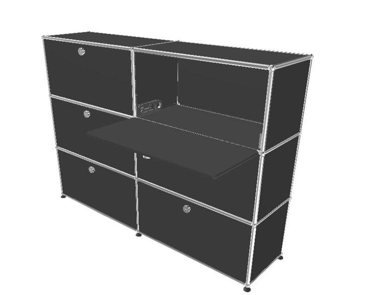 Steel USM Haller Storage Unit For Sale
