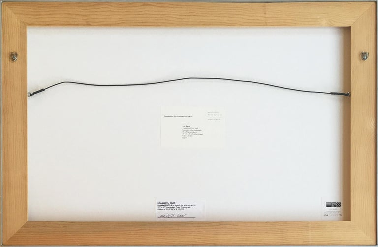 Uta Barth 'Untitled (2005.A),' 2005 Laminated color photograph 20 x 30 inches (sheet) 20.25 x 30.33 x 1.5 inches (frame) Edition 12 of 20 Signed on label on frame  White frame, 1.5'' depth, 0.25'' face.