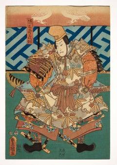 Original Japanese woodblock print - 19th century