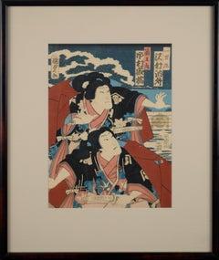 Two Kabuki Actors