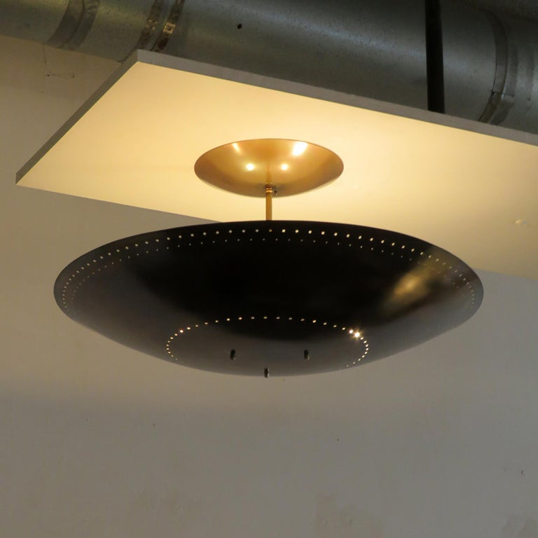 Brass Utah-24 Ceiling Light by Gallery L7 For Sale