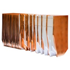 Utopia Contemporary Console Table by Drama Studio for October Gallery