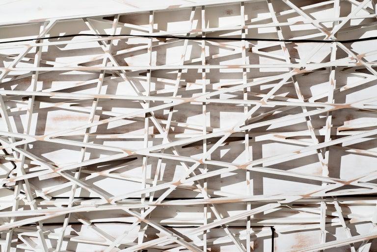 Utopia Anrichte Sideboard in weiß lackiert Holz handgefertigt 2