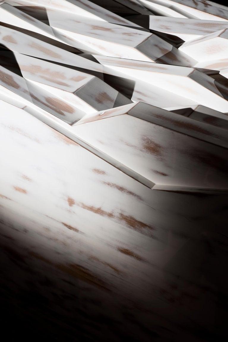 Utopia Anrichte Sideboard in weiß lackiert Holz handgefertigt 5