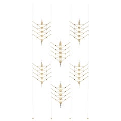 V-V-V GOLD, Space Separating Light/Wall Light, 6 Modules, Europe, by Vantot