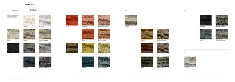Gold Plate V2 Glück Ø50cm / 19.6in. Pendant Light, Hand Crocheted in 100% Egyptian Cotton For Sale