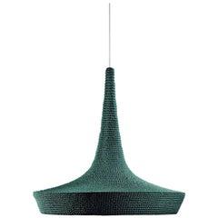 V2 Glück Ø60 Light in Alpine, Hand Crocheted in 100% Mercerized Egyptian Cotton