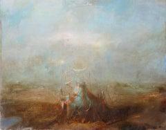 Vachagan Narazyan, Manuto Landscape, 27-1/2in x 21-1/2in, oil on canvas