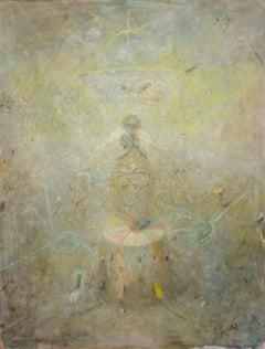VACHAGAN NARAZYAN, Sun Angel – Carousel, 51in x 39.5in, oil on canvas