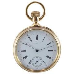 Vacheron and Constantin 18 Karat High Grade Handmade Pocket Watch circa 1900s