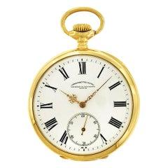 Vacheron and Constantin 'Chronometre Royal' Open Face Pocket Watch