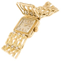 Vacheron and Constantin Gold and Diamond Bracelet Watch
