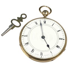 Vacheron and Constantin Gold Cased Quarter Hour Repeater Pocket Watch