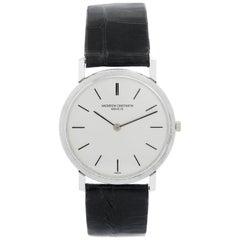 Vacheron Constantin 18 Karat White Gold Ultra Thin Men's Watch
