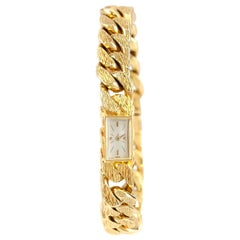 Vacheron Constantin 18 Karat Yellow Gold Link Chain Watch