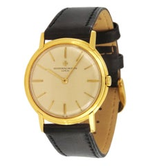 Vacheron Constantin 18 Karat Yellow Gold Manual Watch