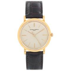Vacheron Constantin 18 Karat Yellow Gold Men's Manual Watch