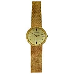 Vacheron Constantin 18 Karat Yellow Gold Ultra Thin Manual Wind Watch, 1960s