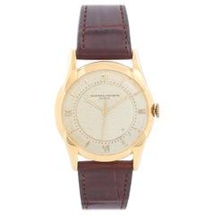 Vacheron Constantin 18 Karat Yellow Gold Vintage Men's Watch