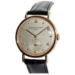 Vacheron Constantin 18 Karat Rose Gold Dress Watch
