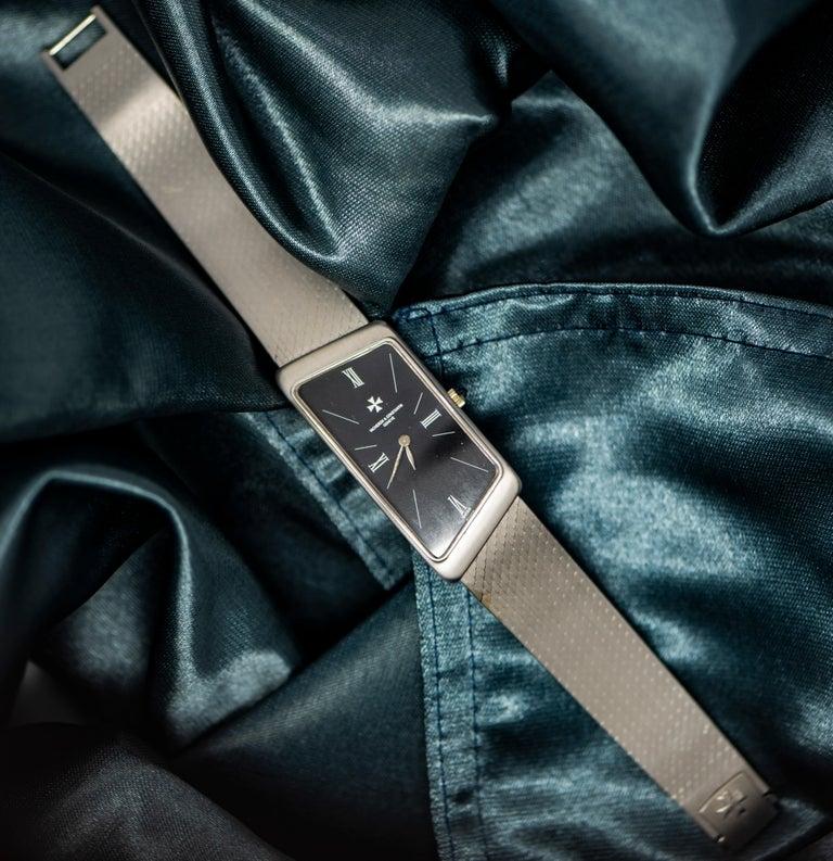 Vacheron Constantin Asymmetrical 1972 Prestige De La France # 35202 Wristwatch For Sale 2