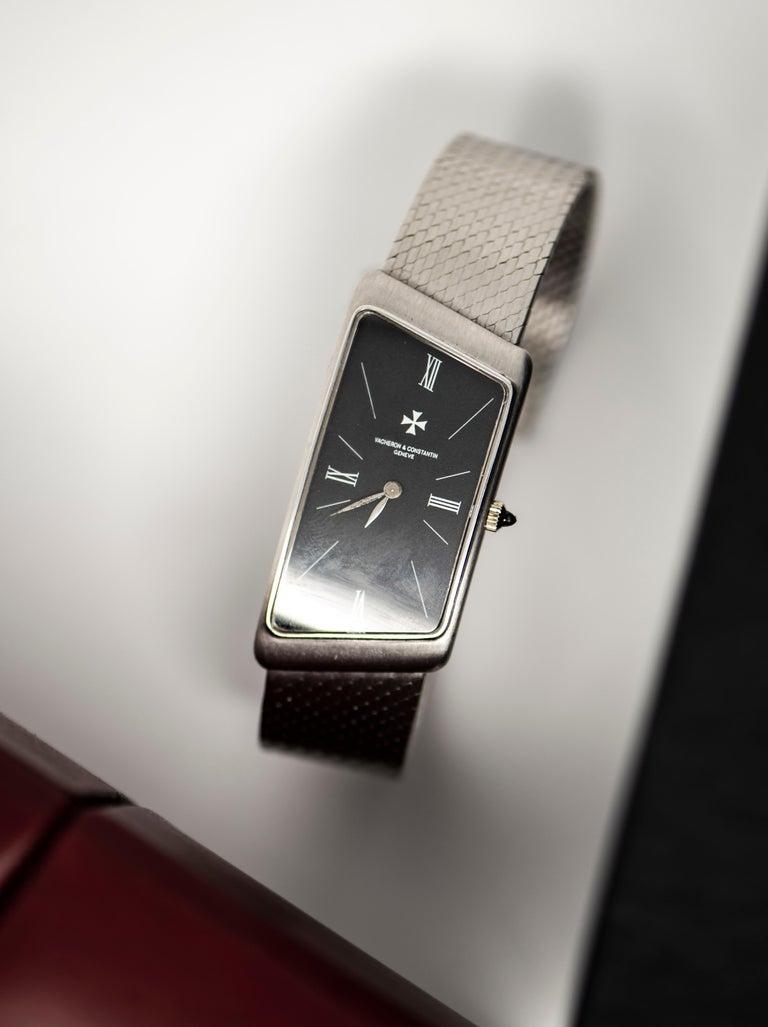 Vacheron Constantin Asymmetrical 1972 Prestige De La France # 35202 Wristwatch For Sale 3