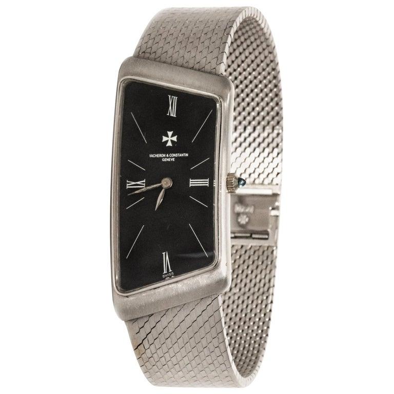 Vacheron Constantin Asymmetrical 1972 Prestige De La France # 35202 Wristwatch For Sale