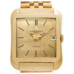 Vacheron Constantin Cioccolatone 6440 Q, Gold Dial, Certified