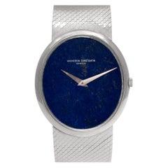 Vacheron Constantin Classic 2047P, Blue Dial, Certified