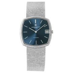 Vacheron Constantin Classique Elegance 7391 0 18k White Gold Blue Dial Mm Automa
