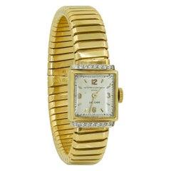 Vacheron Constantin Diamond Ladies Gold Watch