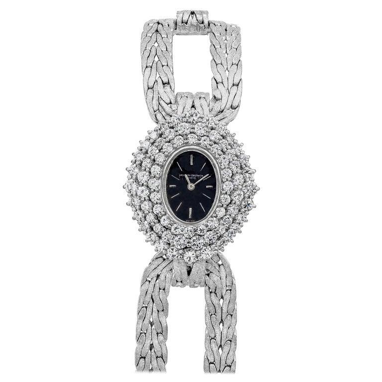 Vacheron Constantin Diamond Ladies Wristwatch For Sale