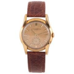 Vacheron Constantin Fancy Lugs Yellow Gold Wristwatch
