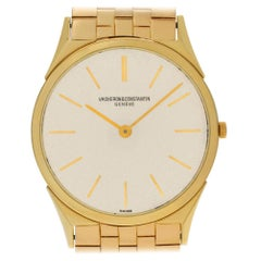 Vacheron Constantin Geneve 6099, Beige Dial, Certified and Warranty