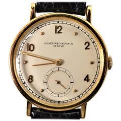 Vacheron & Constantin Geneve Yellow Gold Men's Wristwatch