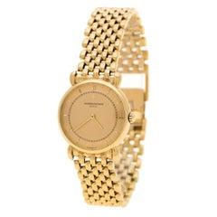 Vacheron Constantin Gold 18K Yellow  Historiques 15084 Women's Wristwatch 24mm