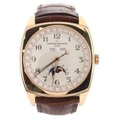 Vacheron Constantin Harmony Complete Calendar Automatic Watch Rose Gold