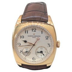 Vacheron Constantin Harmony Dual Time Rose Gold Automatic Men's Watch 7810s/000R