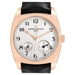 Vacheron Constantin Harmony Dual Time Rose Gold Men's Watch 7810S