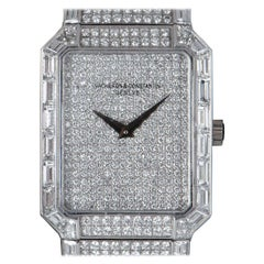 Vacheron Constantin Kalla Sovereign Fully Loaded Platinum Pave Diamond Dial