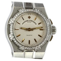 Vacheron Constantin Ladies Steel and Diamond Overseas, 1999