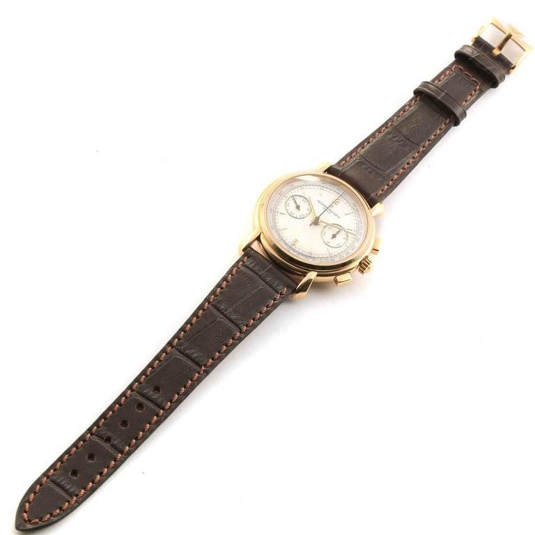 Vacheron Constantin Les Historique 18 Karat Yellow Gold Men's Watch 47101/1 For Sale 7