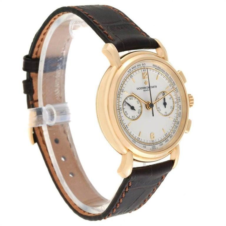Vacheron Constantin Les Historique 18 Karat Yellow Gold Men's Watch 47101/1 For Sale 1